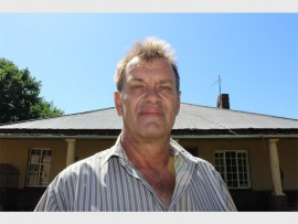 Hennie Visser expects the recovery of the farm to take no less than four years.