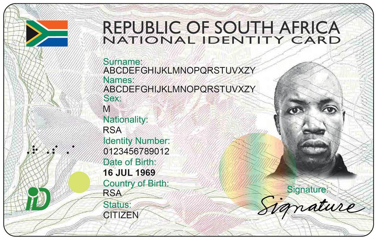 Home Affairs New Id Card