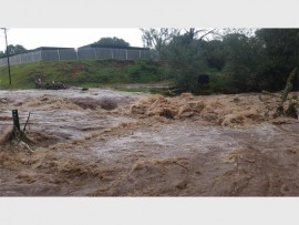 The water flooded parts of Krugersdorp on 5 February. Photo: Supplied.