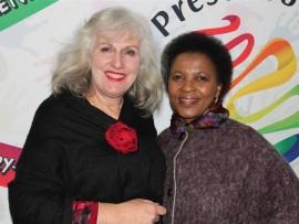 Robyn Wienand and Lindiwe Tshabalala.