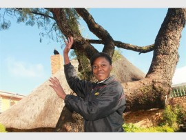 Tshaamano Mabuba scored herself into the Gauteng Netball  GSS team.