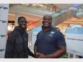 Reuben Sibanda and Donald Nyirenda from Bethany House.