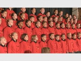 Laerskool Muldersdrift se koor. Foto: Ingestuur.