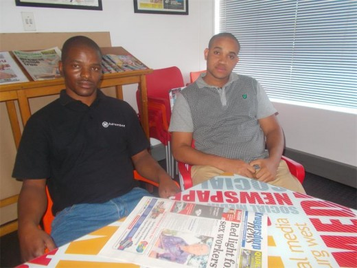 Vusi Jezi and Solly Puleng are taking entrepreneurship to new heights.