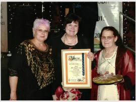Dehlia van Staden, Reinetta Ridley and Lettie Geldenhuis.