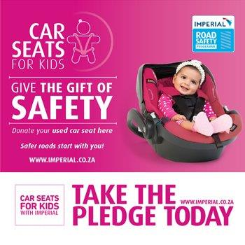 Donate A Car Seat For The Seats Kids Campaign