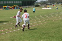 Children enjoyed all sorts of sporting activities at the Cecil Payne Stadium.