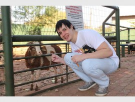 Garry Saunders, one of the owners of the West Rand Pet and Bird Farm. Photo: Sonwabile Antonie