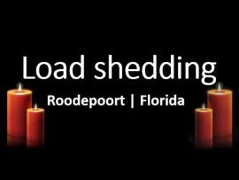 load shedding roodepoort florida