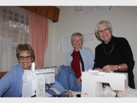 Collen van Vuuren, Elaine Flouerdew and Lola Currin. Photos: Sonwabile Antonie