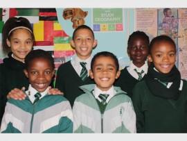 Back: Keisha-Tyler Heldsinger, Daiyaan Marshman and Lisa Baisie Front: Vuyolwethu Mphambani, Kieran Wagner and Kamogelo Mholo. Photo: Sonwabile Antonie