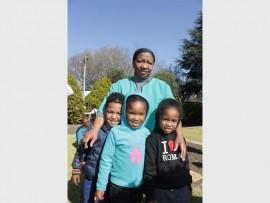 Martha Gaoreke from Florida Baby Home along with Uzziel Job, Mpho Ntlatseng and Tina Jeftha.