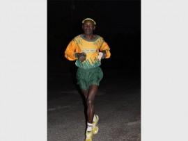 Golden Reef Running Clubs' Bennet Chenyama. Photo: Sonwabile Antonie