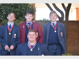Die o.16A-seunspanlede is Dilan Bouwer, Devan van der Velde , Dylan Erasmus en Wion Horn.