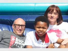 Shawn, Michael and Samantha van der Merwe. Photo: Sonwabile Antonie
