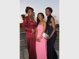 Kealeboga Mbengahse, Samantha Gerber and Keabetswe Mashinini.