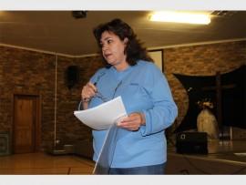 Councillor for Ward 83, Suzanne Clarke. Photo: Mathilde Myburgh