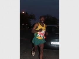 Golden Reef Running Club's Michael Msini. Photos: Sonwabile Antonie