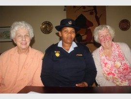 Maureen Murray, Shumikazi Mbuli and Joy Marsh.