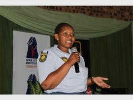 Social Crime Prevention Unit's Constable Shumikazi Mbuli. Photo: Sonwabile Antonie
