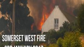 Salute to the firemen battling the Somerset West blaze