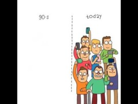 The 90s compared to today