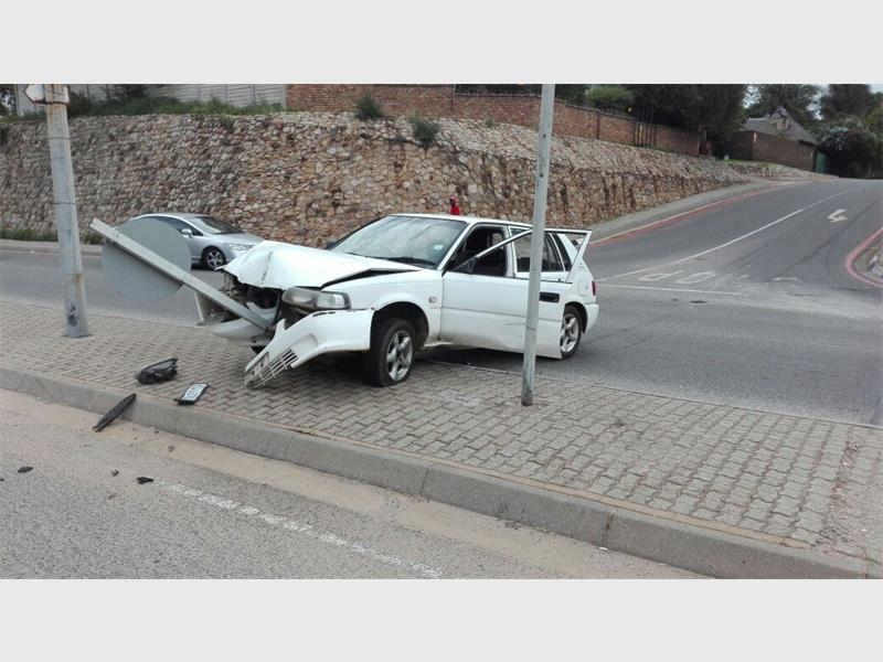 Video + Photos: Three arrested after crashing stolen car ...