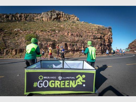 Image result for two oceans marathon go green images
