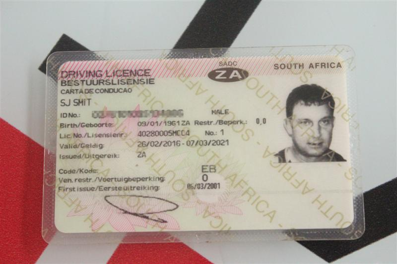 drivers license photos south africa