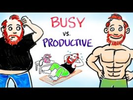 Busy People vs. Productive People