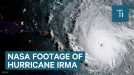 NASA footage shows a 'potentially catastrophic' Hurricane Irma