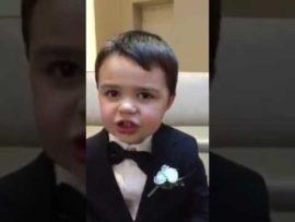 Cute Little Boy Impressively Recites A To Z Bible Verses