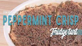 How to make Peppermint Crisp tart