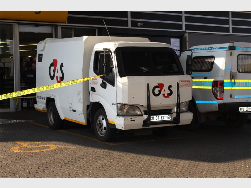 Cit Robbery G4s Van Robbed Roodepoort Record