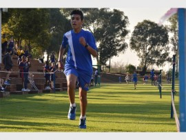 Grade 7 Saheti School pupil Demetri Yiallouris was placed first in four out of five U/13 boys' cross country fixtures during the season. He competed within a league consisting of some 20 primary schools.