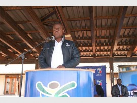 Keynote Address by the MMC: Road and Transport, Cllr Petrus Mhlarhi.