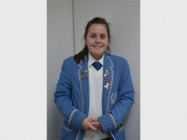 Tyler Booth, a matric pupil at Edenvale High, took part in the Young Leaders Conference.