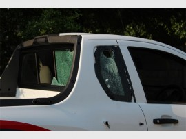 One of the suspects was involved in shootout with security personnel on Daws Avenue.