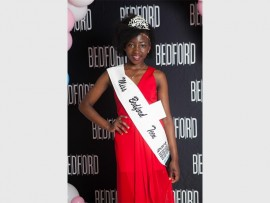 Miss Bedford Teen Wilmah Munemera.
