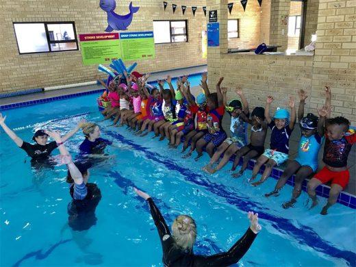 Bedfordview swim school offers water safety classes to for Little fish swim school