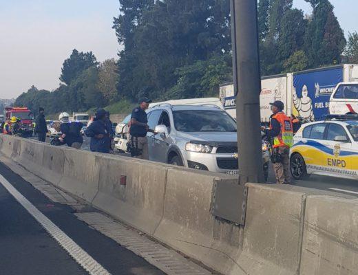 UPDATE Bedfordview Traffic: 11 vehicles involved in N3 North crash