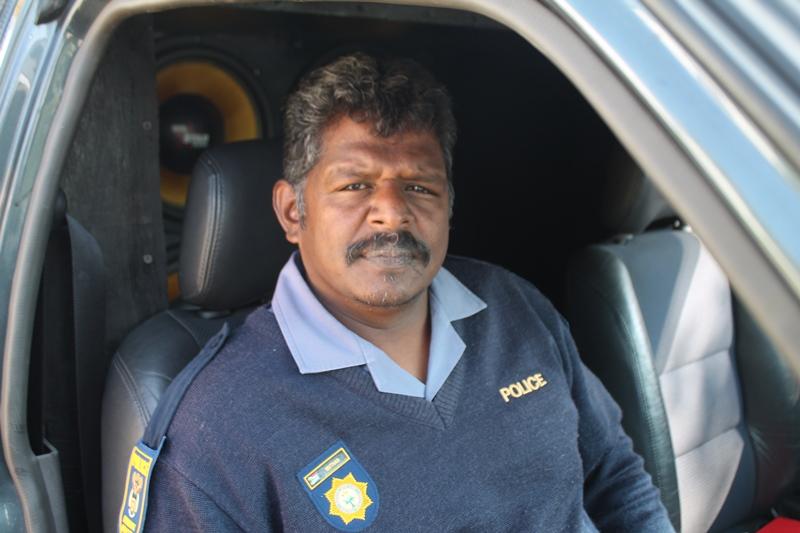 Warrant officer Balan Muthan.