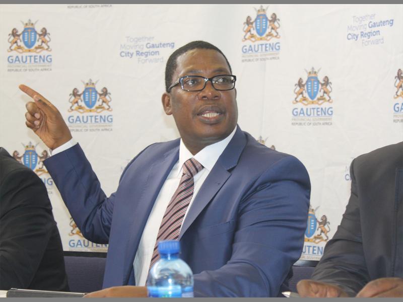 Gauteng MEC for Education Panyaza Lesufi.
