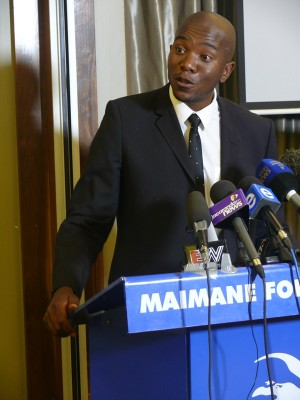 Stock image: DA's Parliamentary leader Mmusi Maimane.