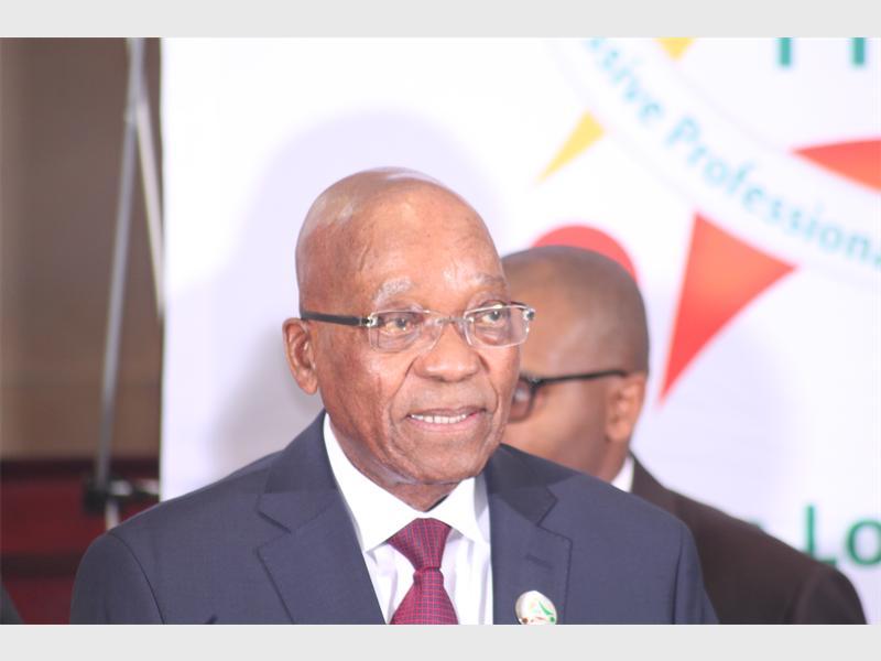 President Jacob Gedleyihlekisa Zuma.