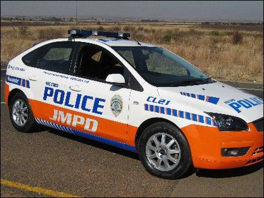 Metro police stock image.
