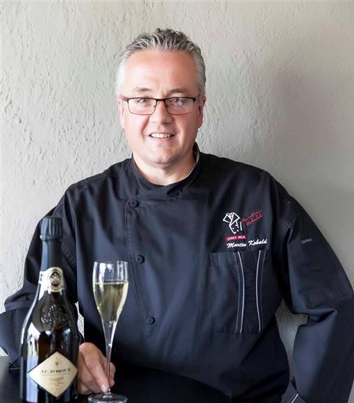 Chef Martin Kobald.