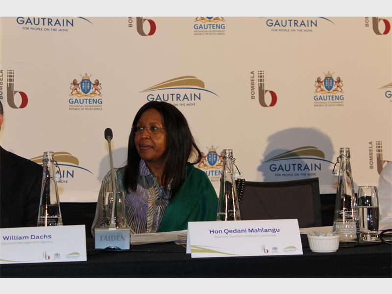 Gauteng Department of Health MEC Qedani Mahlangu.