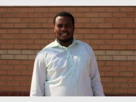 GO GETTER: Midrand resident, Thapelo Mashamaite.
