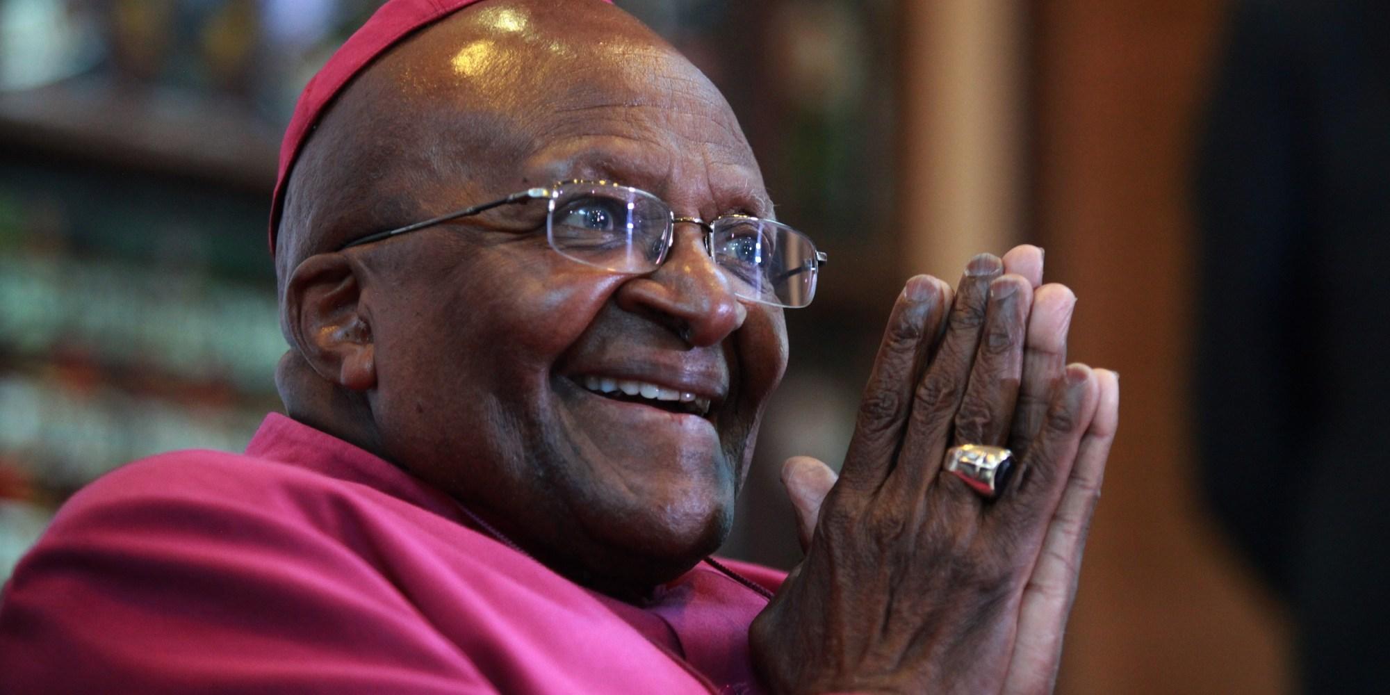 Desmond Tutu: A life in pictures